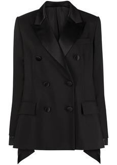 Sacai panelled hybrid blazer