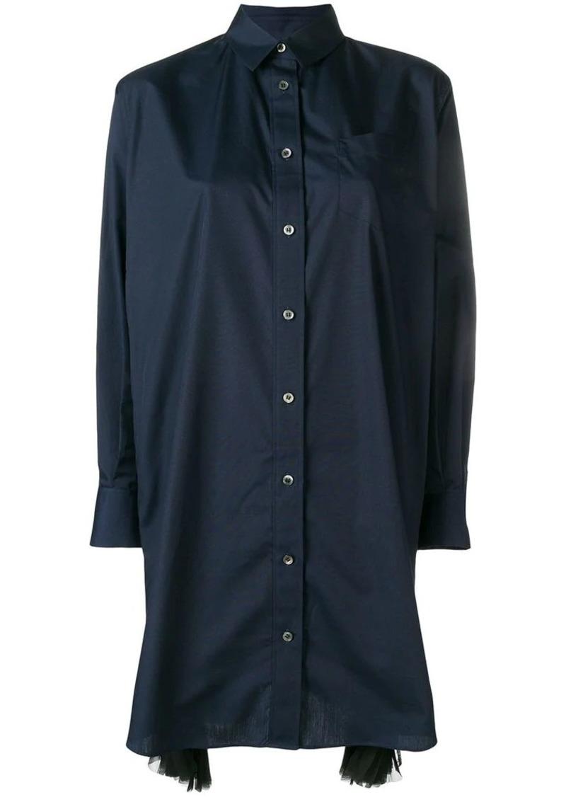 bc69ae19ae Sacai pleated side shirt dress   Dresses