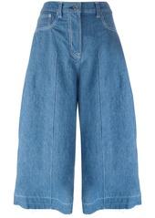 Sacai denim culottes - Blue
