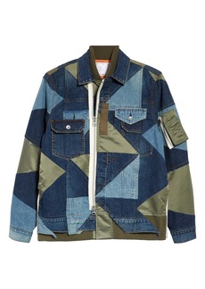 Sacai Hank Willis Thomas Patchwork Jacket