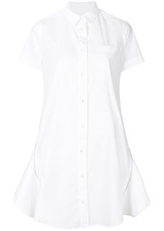 Sacai shirt dress - White
