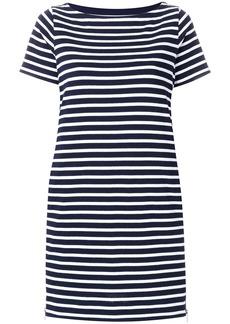 Sacai striped T-shirt dress - Blue