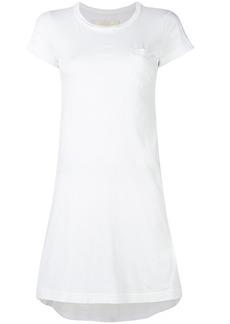 Sacai T-shirt dress - White