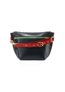 SACAI Trapezoid Colorblock Pouch Bag