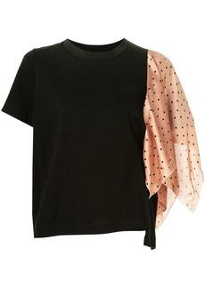 a27d855e960 Sacai motif print short sleeve t shirt