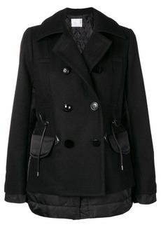 Sacai two textile military coat
