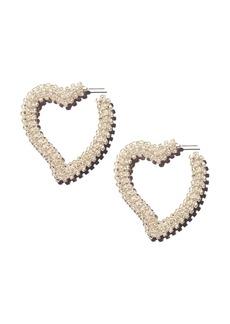 Sachin + Babi Sachin and Babi Heart Drop Earrings