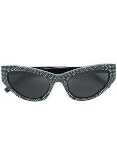 Saint Laurent 215 Grace embellished cat-eye sunglasses