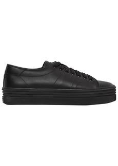 Saint Laurent 40mm Court Classic Platform Sneakers