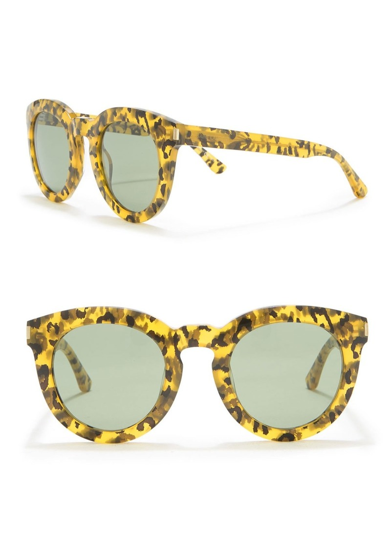 Saint Laurent 47mm Round Sunglasses