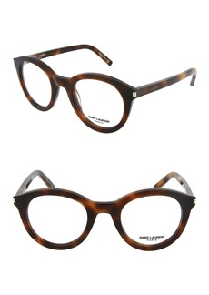 Saint Laurent 48mm Rectangle Optical Frames