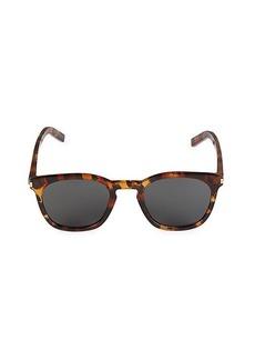 Saint Laurent 49MM Square Sunglasses