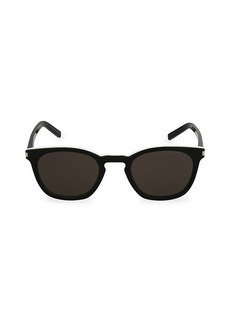 Yves Saint Laurent 49MM Square Sunglasses
