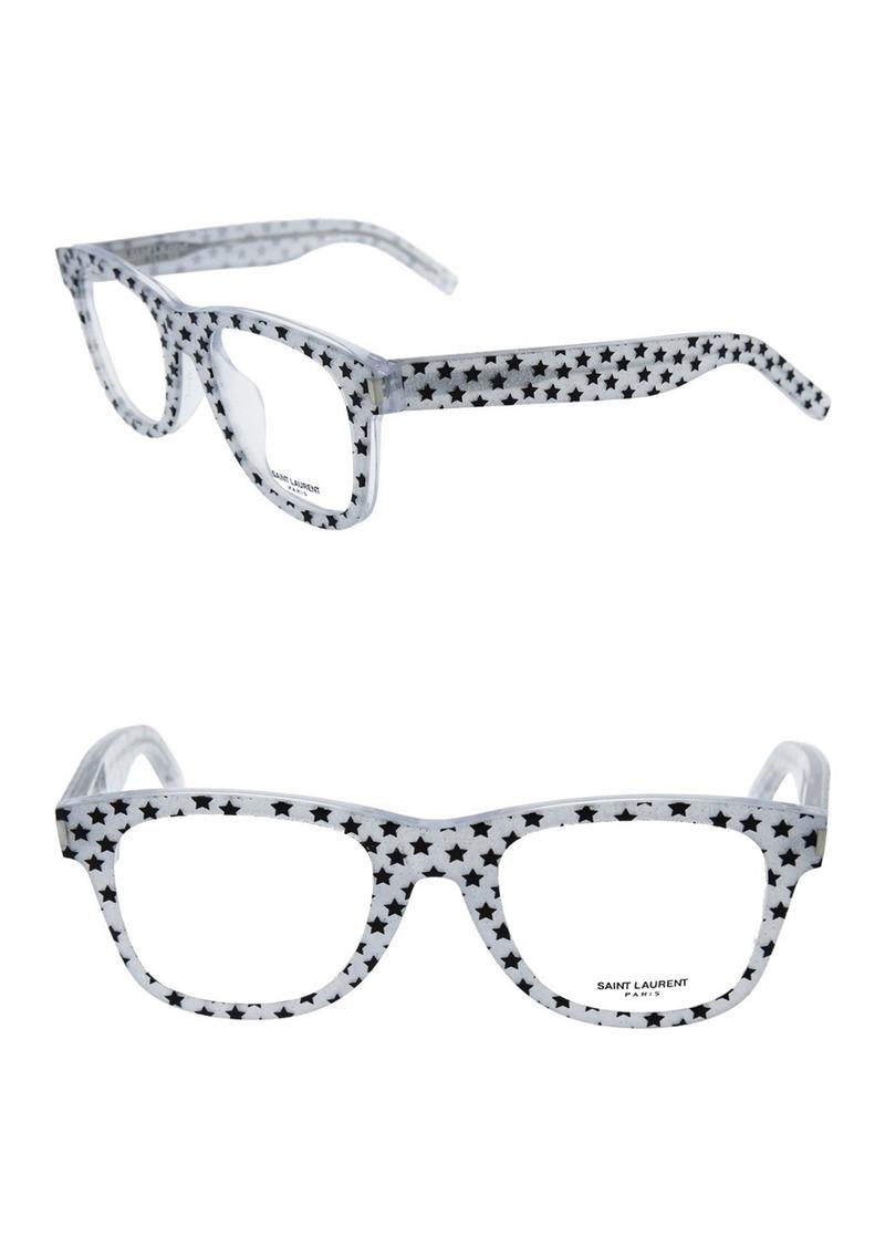Saint Laurent 50mm Rectangle Optical Frames