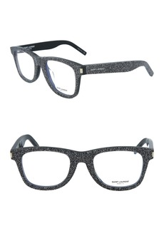 Saint Laurent 50mm Rectangle Optical Frames