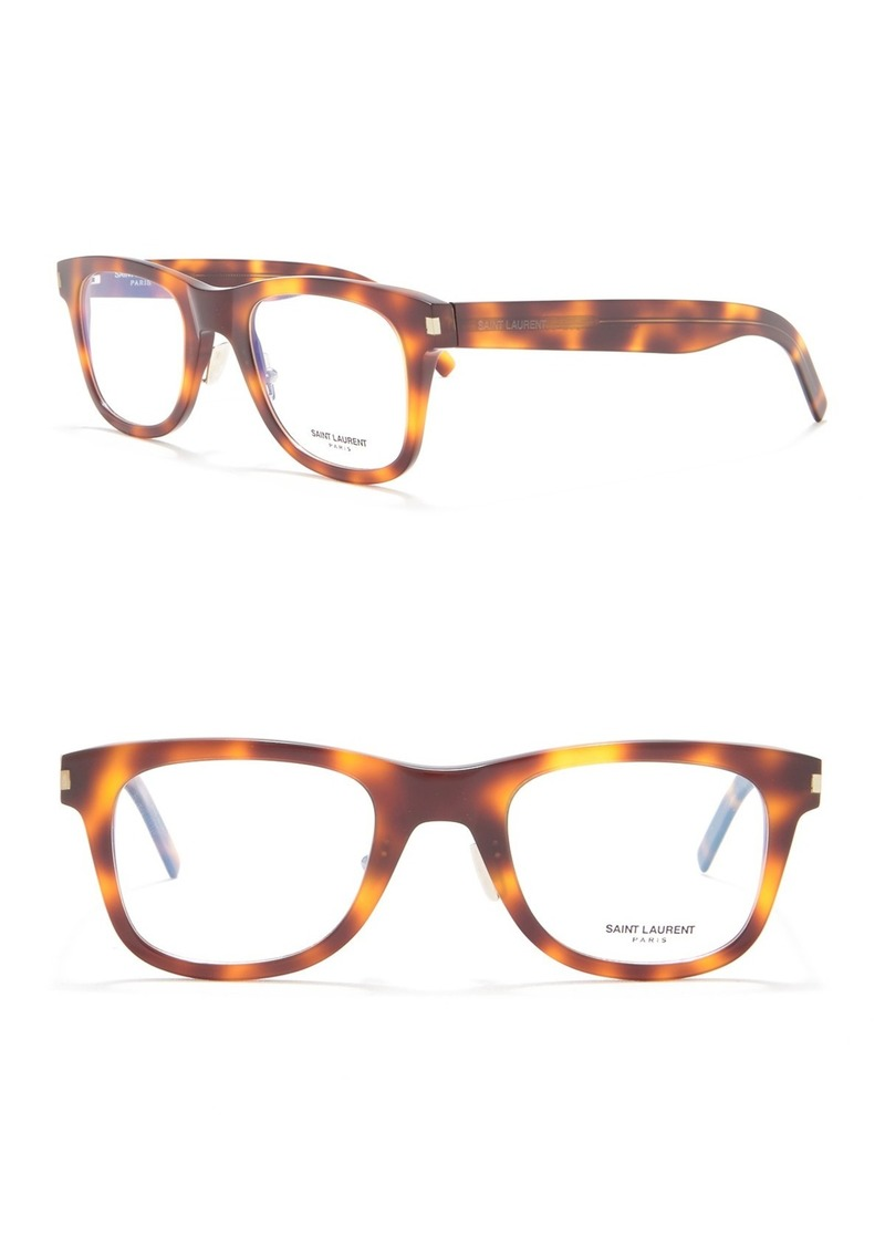 Saint Laurent 50mm Rectangle Slim Optical Frames