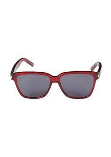 Saint Laurent 50MM Square Core Sunglasses