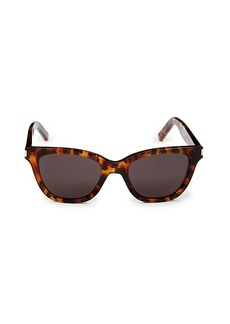 Saint Laurent 51MM Core Square Sunglasses