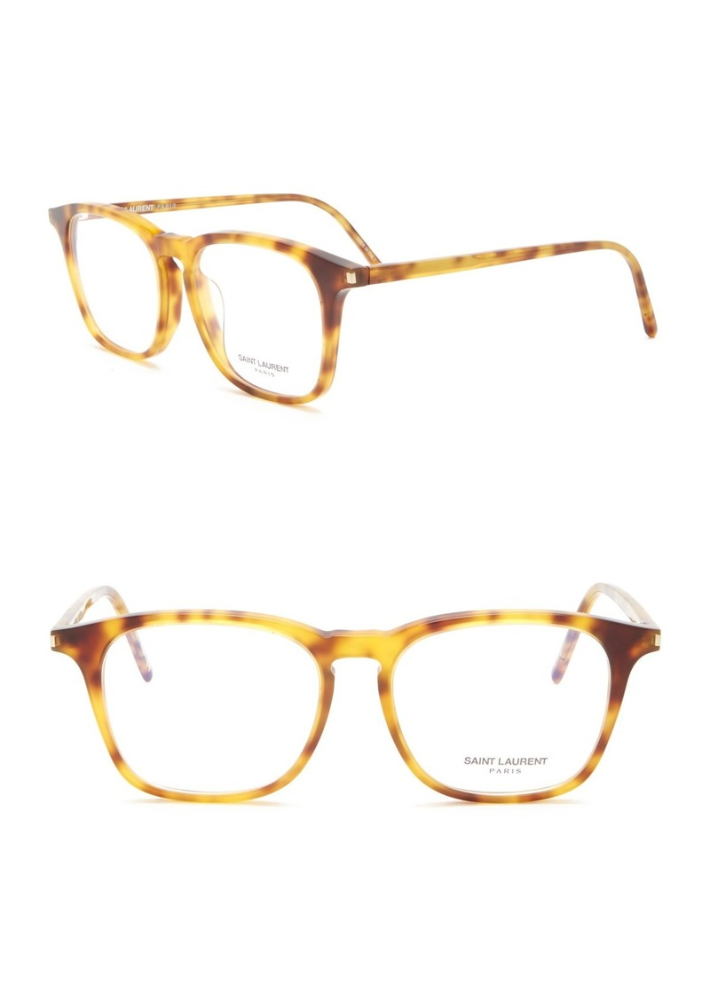 Saint Laurent 51mm Square Optical Frames