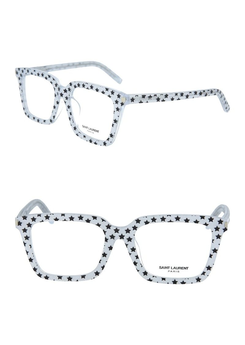 Saint Laurent 52mm Rectangle Optical Frames