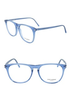 Saint Laurent 53mm Rectangle Optical Frames