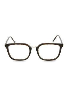 Saint Laurent 53MM Square Optical Glasses