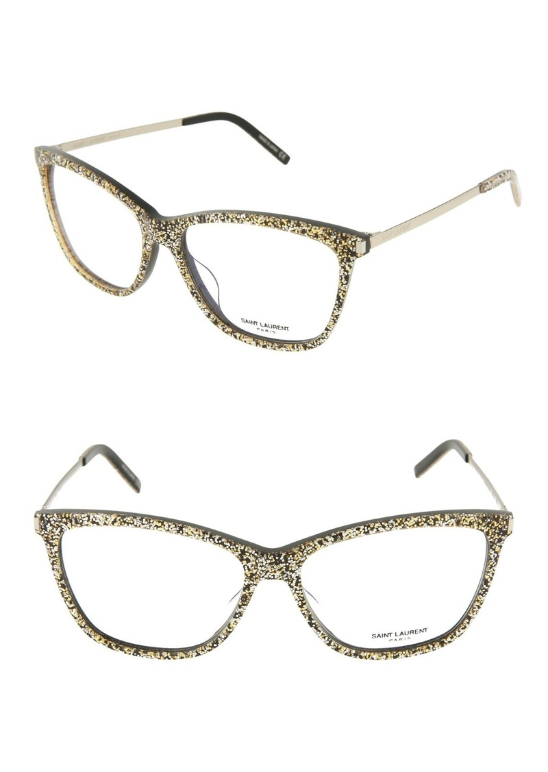 Saint Laurent 56mm Rectangle Optical Frames