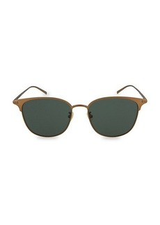 Saint Laurent 57MM Core Round Sunglasses