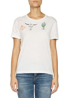 Saint Laurent Arizona Print T-Shirt