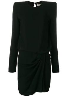 Saint Laurent asymmetric mini dress