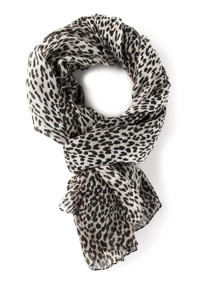 Saint Laurent babycat scarf