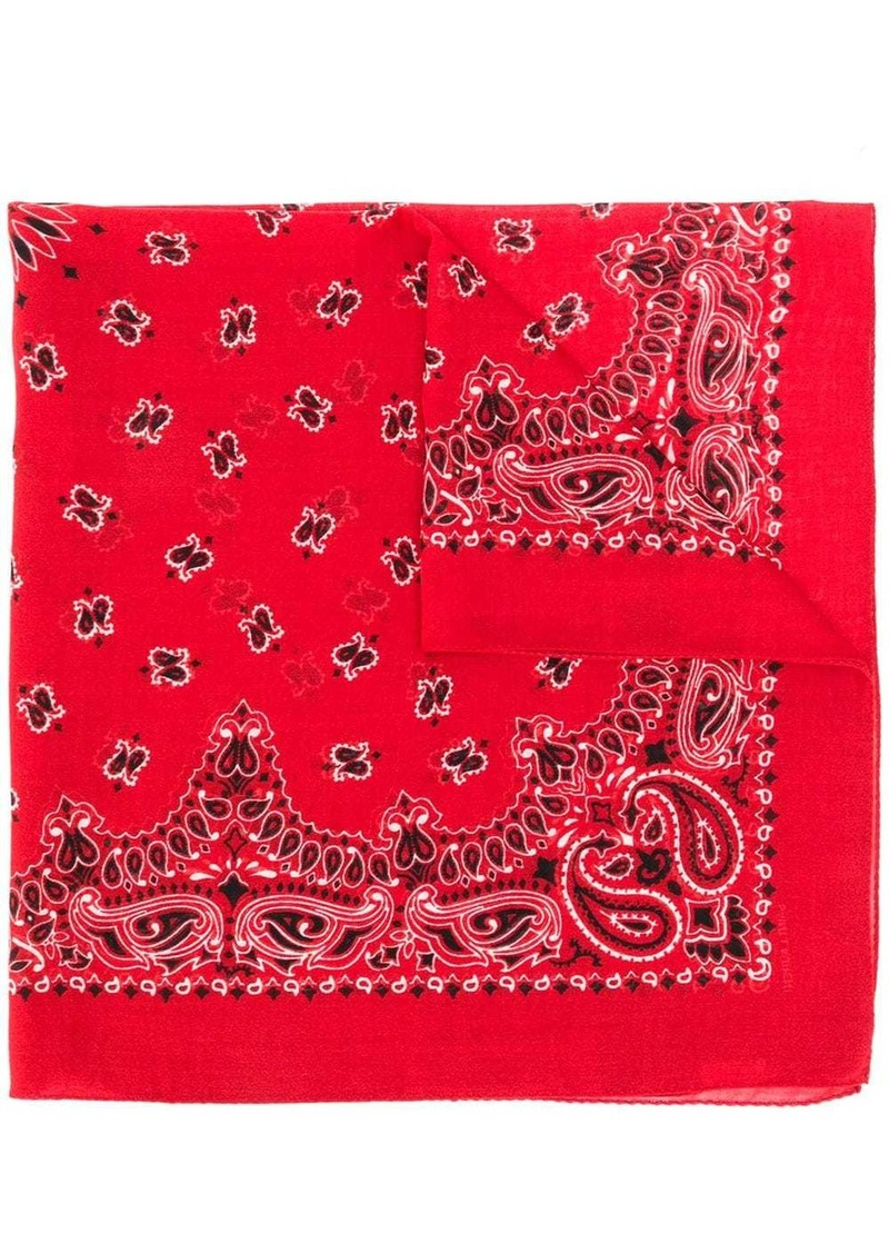 Saint Laurent bandana scarf
