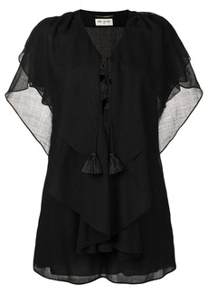 Saint Laurent batwing sleeve kaftan dress