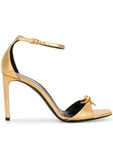 Saint Laurent Bea bow details sandals