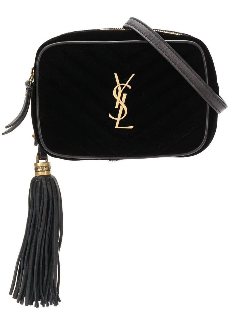 Saint Laurent front logo belt bag
