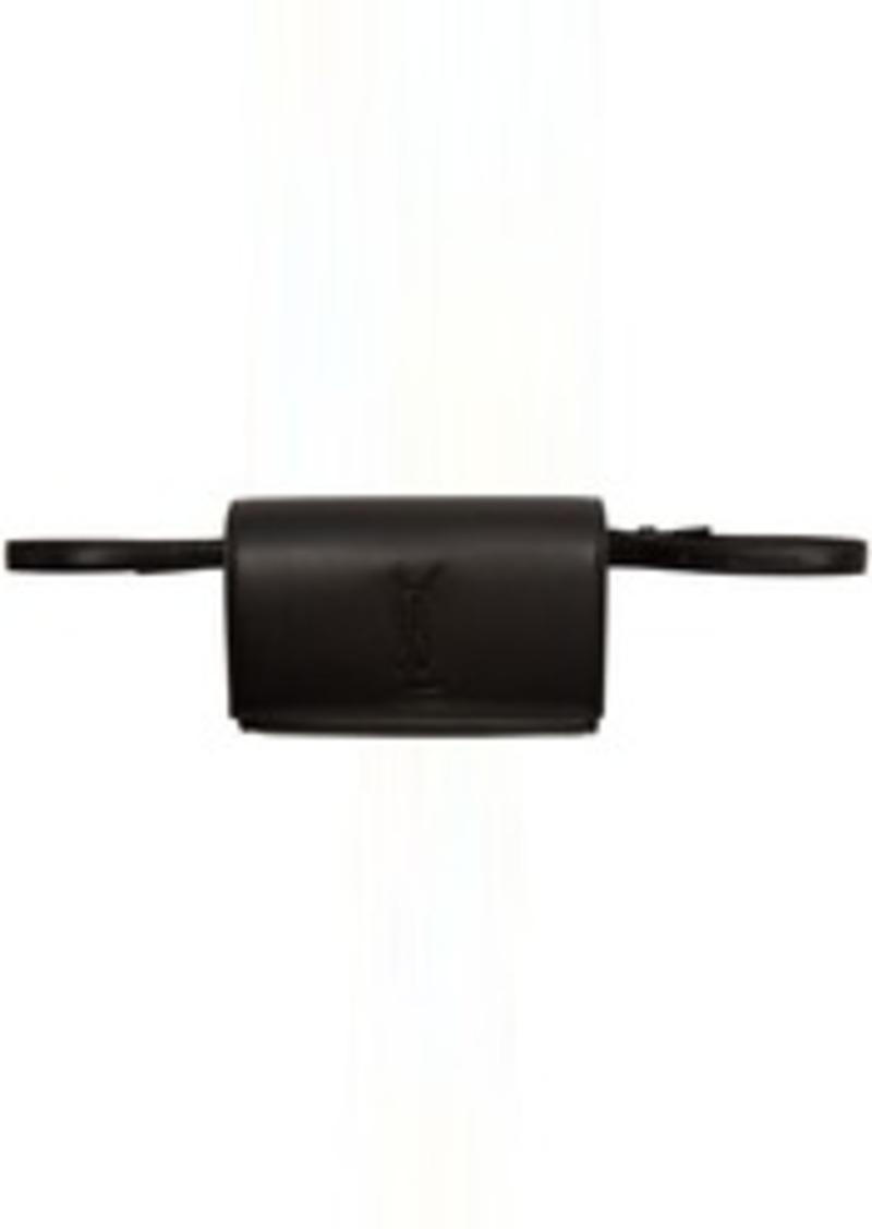 Saint Laurent Black Kate Belt Bag