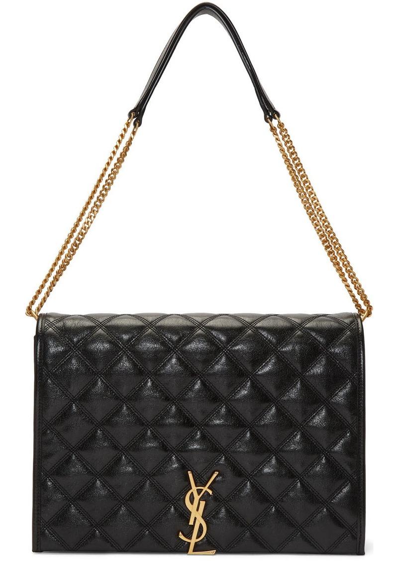 Saint Laurent Black Large Becky Bag