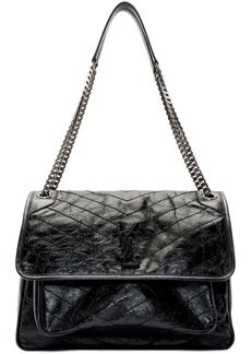 Saint Laurent Black Large Niki Bag