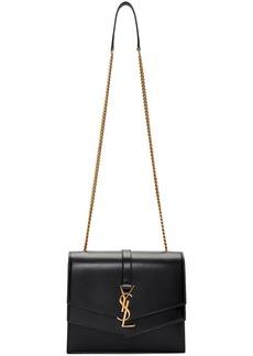 Saint Laurent Black Medium Sulpice Bag