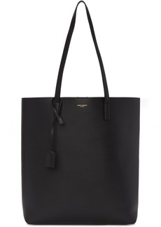 Saint Laurent Black North/South Shopping Tote