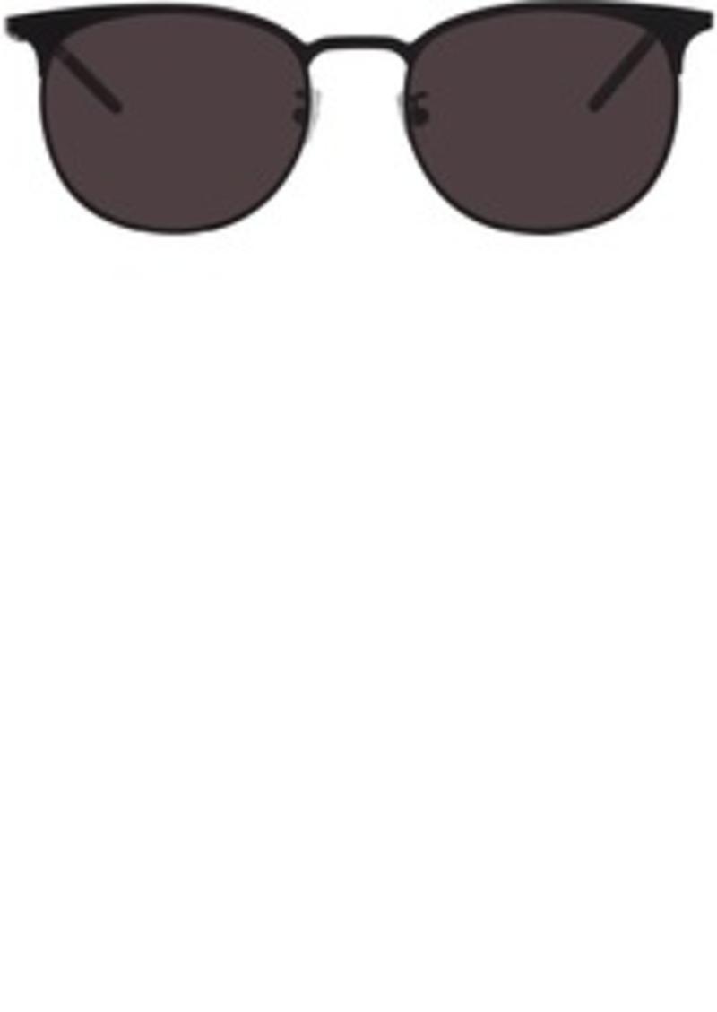 Saint Laurent Black SL 350 Slim Sunglasses
