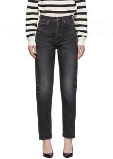 Saint Laurent Black Slim-Fit Jeans
