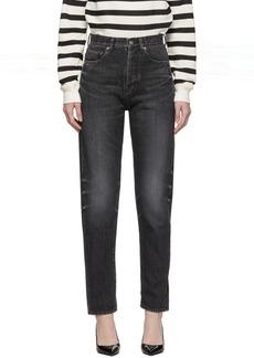 Saint Laurent Black Slim-Fit Jeans