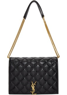 Saint Laurent Black Small Becky Chain Bag