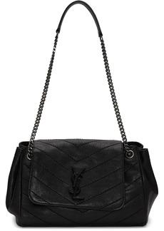 Saint Laurent Black Small Quilted Nolita Bag