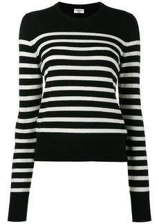 Saint Laurent Black striped jumper
