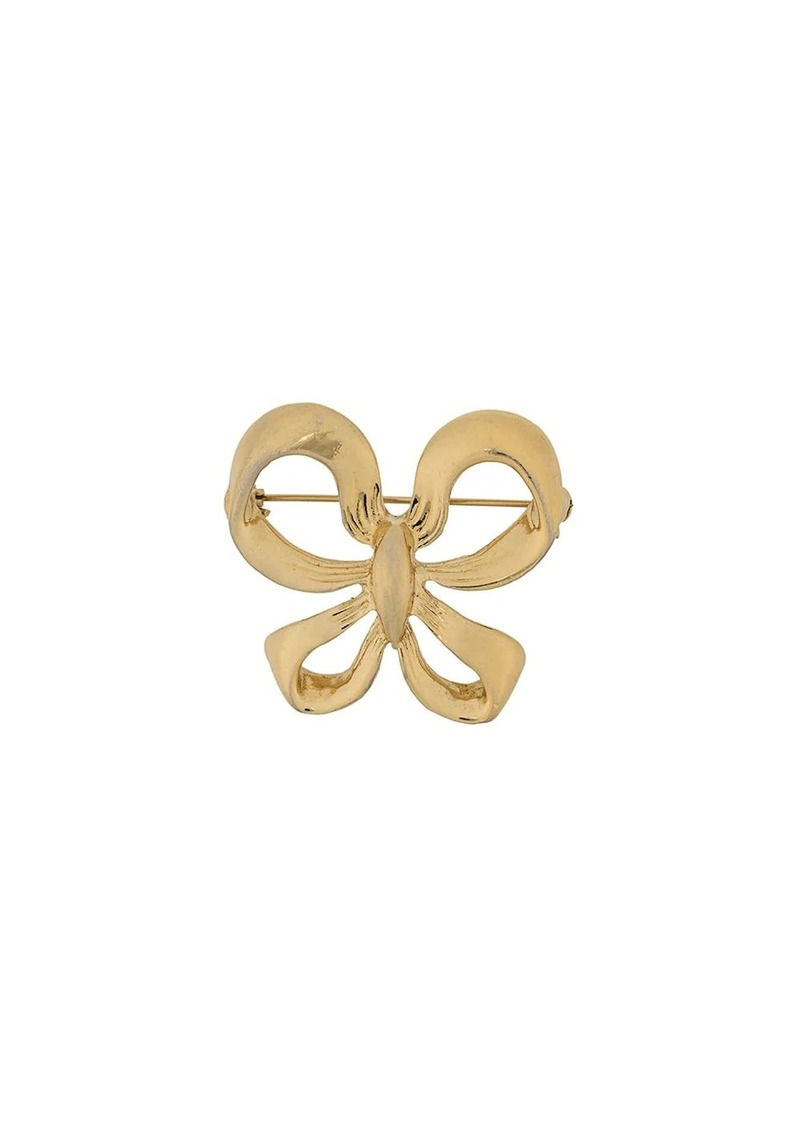 Saint Laurent bow brooch