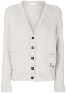 Saint Laurent cardigan with pins