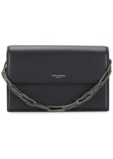 Saint Laurent chain strap clutch bag