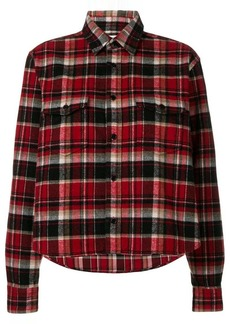 Saint Laurent checked classic shirt